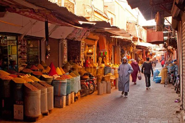 In-the-spice-souq-Marrakech